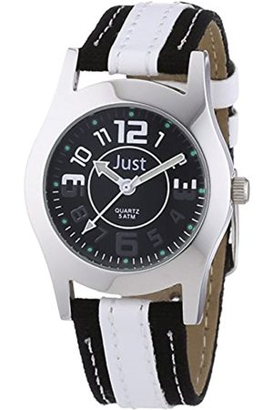 Just Watches Unisex Analogue Quartz Watch with Synthetic Strap 48-S0007-WH