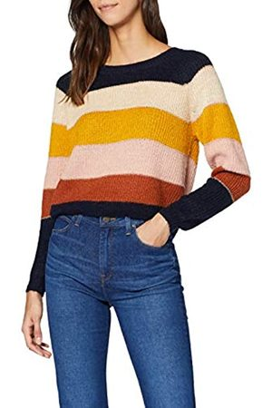 Only Women's Onlstripe L/s Pullover KNT Jumper