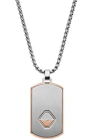 Emporio Armani Men Stainless Steel Pendant Necklace EGS2634040
