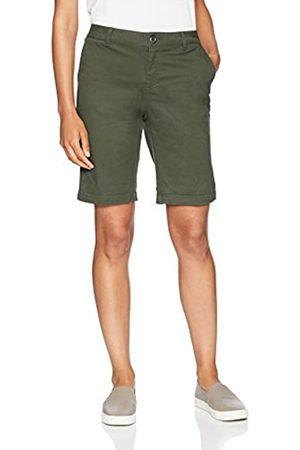 "Amazon 10"" Inseam Solid Bermuda Short Olive"