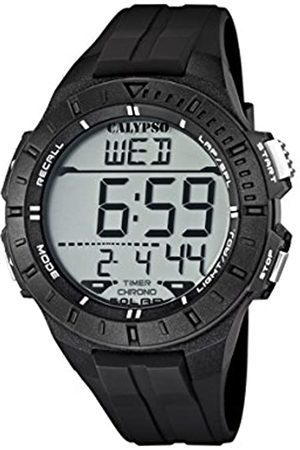Calypso Unisex Digital Watch with LCD Dial Digital Display and Plastic Strap K5607/6