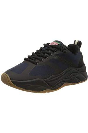 SCOTCH & SODA FOOTWEAR Women's Celest Low-Top Sneakers, (Night Sky S602)
