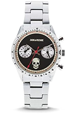 Zadig & Voltaire Unisex Watch Analogue Display and Stainless Steel Plated Strap ZVM121
