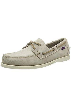 Sebago Men's Docksides Portland Suede Boat Shoes, ( Taupe 910)