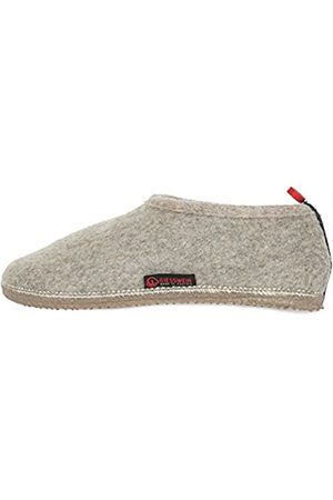 Giesswein Slipper Tambach Nature 45 - Closed Felt Slippers for Men & Women, Changeable Footbed, Warm Unisex House Shoe, Mules, Comfortable Slippers with Flexible Sole, Non-Slip