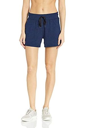 Amazon Essentials Brushed Tech Stretch Short Navy Space Dye