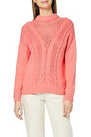 Dorothy Perkins Women's Coral Cable Jumper Pullover Sweater