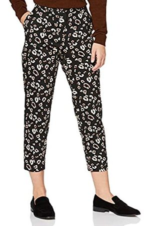 Dorothy Perkins Petite Women's AC Animal Print Naples Ankle Grazer Trousers