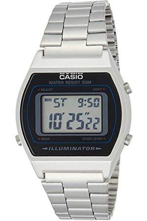 Casio Unisex Adult Digital Quartz Watch with Stainless Steel Strap 4971850965138