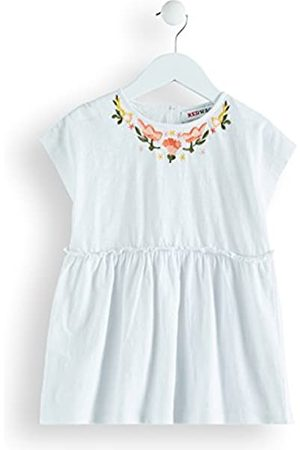RED WAGON Amazon Brand - Girl's Embroidered Tunic Top, 10 Years