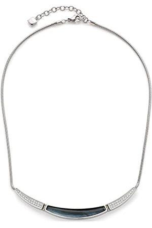 Leonardo Women Necklace Eleganza Stainless Steel Glass silver 40 cm 016349