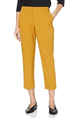 Dorothy Perkins Women's Golden Ankle Grazer Trousers