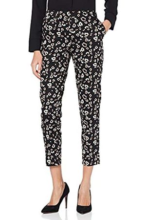Dorothy Perkins Tall Women's Ac:Leopard Ankle Grazer Trousers