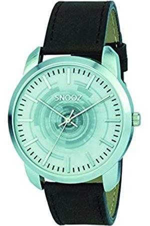 Snooz Men's Analogue Quartz Watch with Leather Strap Saa0044-61