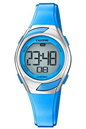 Calypso Womens Digital Quartz Watch with Plastic Strap K5738/3