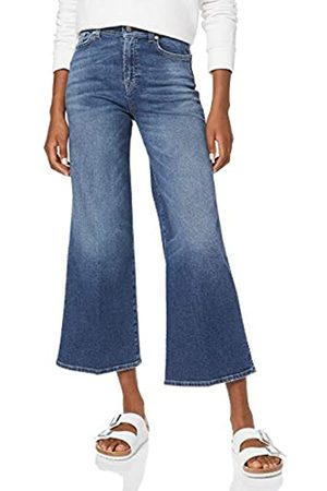 7 for all Mankind Women's Lotta Cropped Flared Jeans