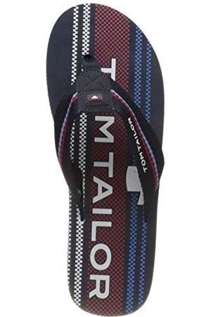 TOM TAILOR Men's 8081605 Flip Flops, (Navy- 00117)