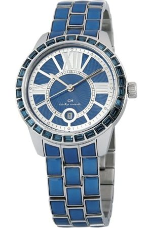Carlo Monti Cosenza Women's Quartz Watch with Dial Analogue Display and Stainless Steel Bracelet CMZ01-133