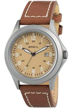 Breil Watch Man Army dial e watchband in Calfskin