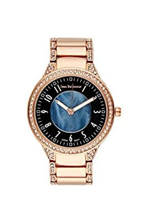 Jean Bellecour Unisex-Adult Analogue Classic Quartz Watch with Stainless Steel Strap JBN02