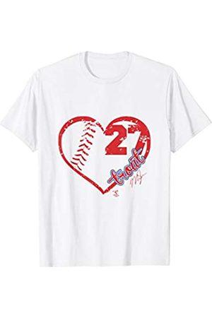 FanPrint Mike Trout Heart Team T-Shirt - Apparel