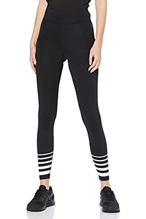 AURIQUE Amazon Brand - Women's Sports Stripped Leggings, 12