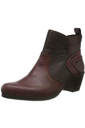 Rieker Women's Herbst/Winter Ankle Boots, (Bordeaux/Havanna/vino 36)