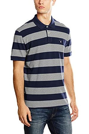 GANT Men's Barstripe Pique Rugger Polo Shirt
