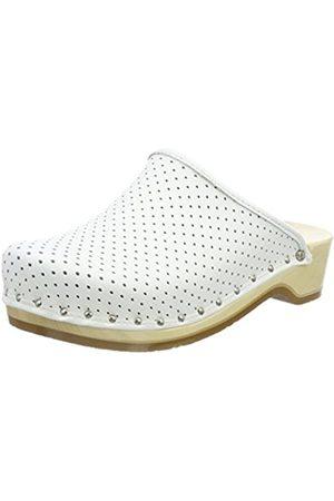 Berkemann Standard-Toeffler, Unisex - Adults Clogs & Mules Clogs, (Weiß)