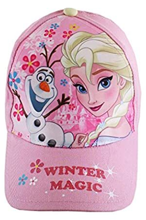 Disney Girl's Frozen Winter Magic Cap