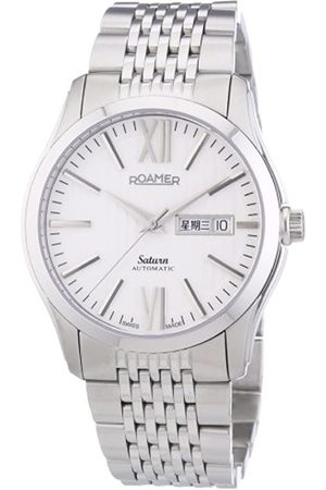 Roamer Saturn Men's Automatic Watch with Dial Analogue Display and Stainless Steel Bracelet 941637 41 13 90
