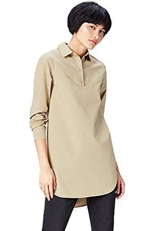 find. Women's Dress in Tunic Shirt Shape with Poplin