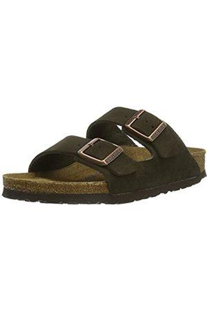 Birkenstock Men's Arizona SFB Open Toe Sandals, (Marron Mocca Marron Mocca)