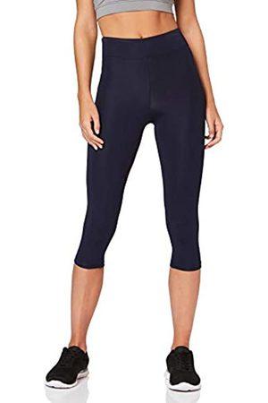 AURIQUE Amazon Brand - Women's Capri Sports Leggings, 14