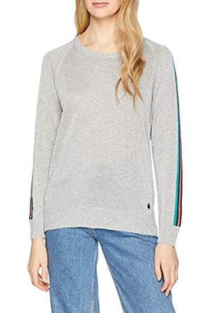 Trussardi Jeans Women's Round Neck Lurex Regular Fit Jumper