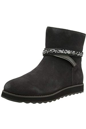 Skechers KEEPSAKES 2.0, Women Ankle Boots, (Charcoal Suede Ccl)