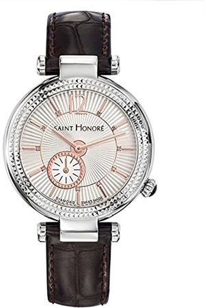 Saint Honore Women's Analogue Quartz Watch with Leather Strap 7620211AFDR