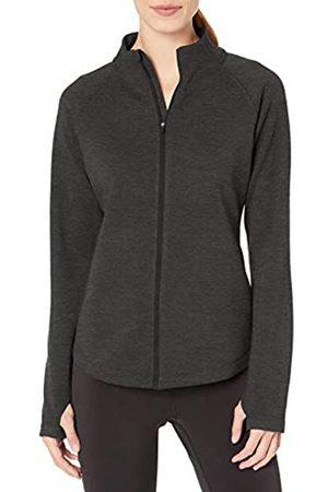 Amazon Fleece Lined Full-zip Mockneck Jacket Charcoal Heather