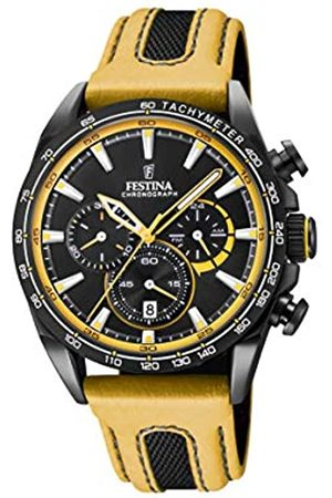 Festina Unisex Adult Chronograph Quartz Watch with Leather Strap F20351/4