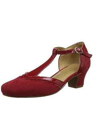 Hotter Viviene, Women's T-Bar T-Bar Heels, (Tango Patent 181)