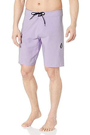 "Volcom Men's Lido Solid Mod 20"" Swim Shorts"