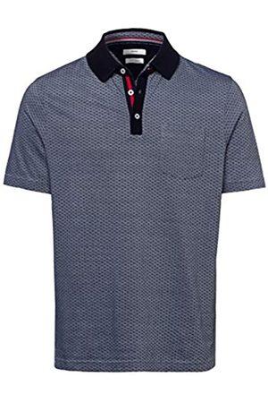 Brax Men's Pieter Easy Care Jacquard Polo Shirt