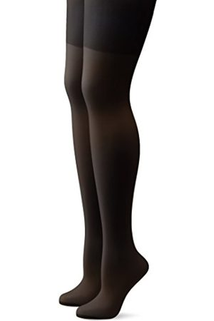 Hudson Lilly - Tights - 20 DEN - Women's, Pack of 2, Gray (anthrazit 0545)