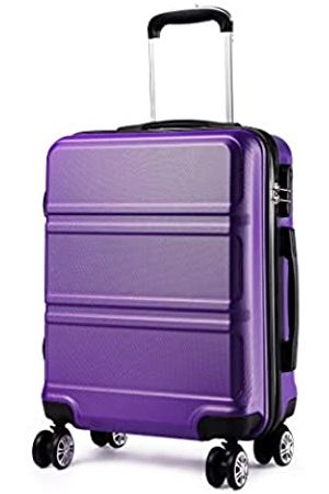 Kono 20 inch Cabin Suitcase Lightweight ABS Carry-on Hand Luggage 4 Spinner Wheels Trolley Case 55x40x22 cm