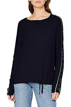 CECIL Women's Sporty Knit with Wording Sweater
