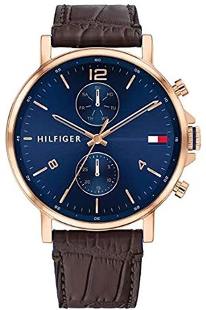 Tommy Hilfiger Men's Analogue Quartz Watch with Leather Strap 1710418
