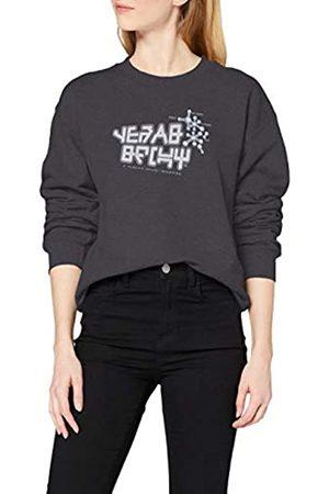 Marvel Women's Guardians of The Galaxy Vol.2 I Am Groot Scribbles Sweatshirt