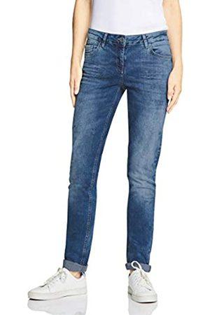 Cecil Women's 372462 Scarlett Loose Fit Straight Jeans