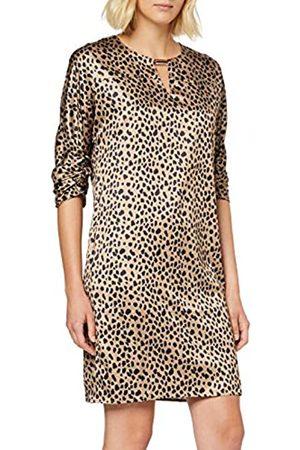 Apart Women's Printed Leo Satin Dress