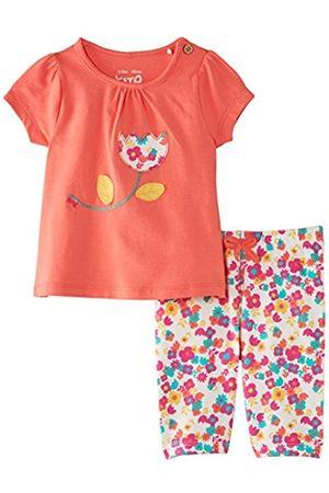 Kite Baby-Girls Tulip Tunic and Legging Set Floral Round Collar Short Sleeve Clothing Set